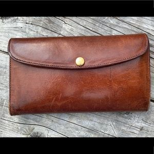 Vintage COACH Leather Brown 60's Wallet
